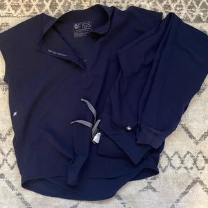 Navy Figs Scrubs